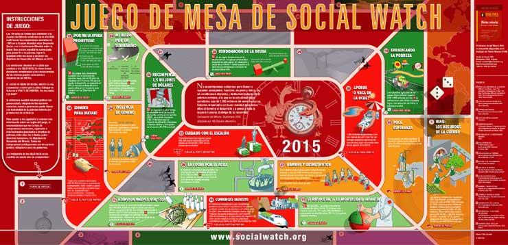 Juego De Mesa De Social Watch Font B